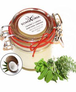 Kokosový olej Babičkina záhrada. BIO oleje na telo, prírodné telové oleje, BIO kozmetika na tvár a telo, prírodná kozmetika na telo