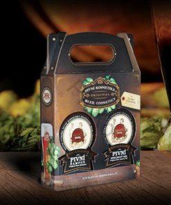 Darčeková pivná kazeta 2. Prírodná darčeková kozmetika s pivom, pivná kozmetika, BIO kozmetika