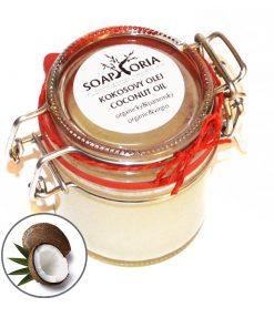 Kokosový olej panenský, bio kozmetika na telo, bio oleje na telo, prírodné telové oleje