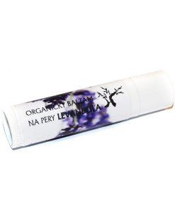 Levanduľa prírodný balzam na pery - prírodná kozmetika na pery pre celú rodinu, prírodná kozmetika na tvár