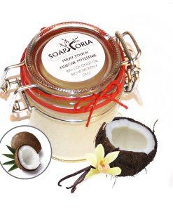 kokosový olej Mliečne potešenie, bio kozmetika proti vráskam, bio oleje na telo, prírodná kozmetika, prírodné telové oleje