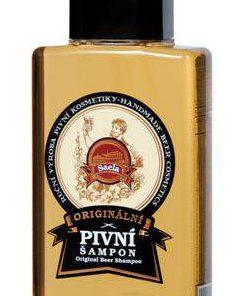 Originálny pivný šampón proti vypadávaniu vlasov, podporuje rast vlasov, proti lupinám a podráždeniu pokožky hlavy. Prírodný šampón proti vypadávaniu vlasov