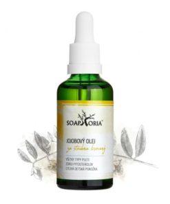 Jojobový olej, slovenská prírodná kozmetika, na tvár, na akné, vlasy, proti vráskam. Vyhladzuje, pôsobí hojivo, ošetruje citlivú pleť, vlasy. BIO kozmetika