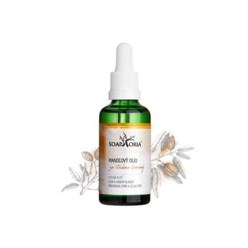 Mandľový olej na pleť, účinky a použitie na tvár, vlasy - čisto prírodná pleťová kozmetika, na vrásky, telo i vlasy, pre suchú a citlivú o pleť, vlasy