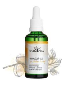 Marhuľový olej pre deti, na citlivú pleť, zrelú pleť - 100% organický olej - organická, čisto prírodná kozmetika na pleť, telo, na vlasy, pre novorodenca.