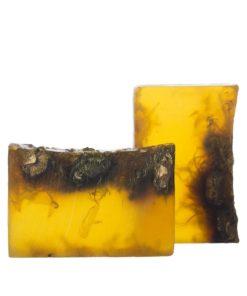 Prírodné mydlo Nežný nechtík. Prírodná kozmetika na tvár, na telo, BIO kozmetika na jazvy