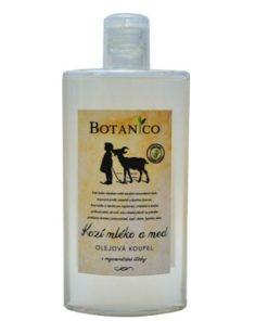 Olejový kúpeľ s kozím mliekom a medom je vhodný na suchú, ekzematickú pokožku a uľavuje pri psoriáze. Prírodná kozmetika na suchú, citlivú a podráždenú pleť