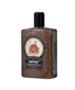 Originálna pivná kúpeľová soľ. Soľ dodá pokožke dôležité minerálne látky. Obsah chmeľového a rašelinového extraktu má upokojujúce účinky. Prírodná kozmetika