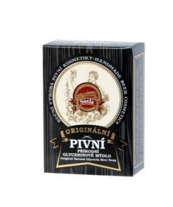 Originálne pivné mydlo. Originálna prírodná kozmetika na tvár a telo s obsahom pravého českého piva s chránenou receptúrou. Vhodné na všetky typy pleti,