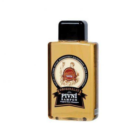 Originálny pivný šampón proti vypadávaniu vlasov - prírodný šampón, podporuje rast vlasov, proti lupinám a podráždeniu pokožky hlavy. Obsahuje čierne pivo