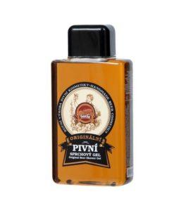 Originálny pivný sprchový gél na suchú pokožku. Prírodná kozmetika s pravým českým pivom, chránená receptúra, krásne vonia chmeľom, nevysušuje, UNISEX