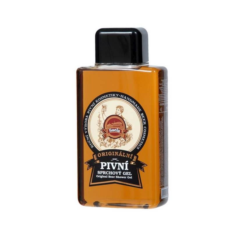 Originálny pivný sprchový gél na suchú pokožku. Prírodná kozmetika s pravým  českým pivom 978c6ce96d8