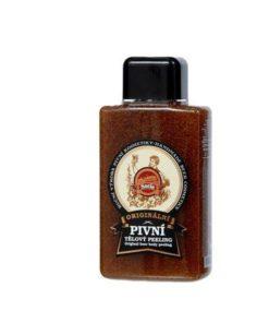 Originálny pivný telový peeling. Prírodný peeling na telo, pre jemnú pleť. Saela šetrne odstraňuje suché a hrubé šupinky kože, drobné nečistoty.