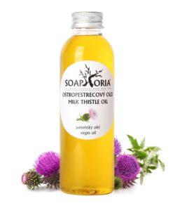 Ostropestrecový olej - panenský olej proti vypadávaniu vlasov, pôsobí proti oxidatívnemu stresu, BIO kozmetika proti vypadávaniu vlasov