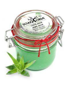 Peeling Čistá aloe vera, prírodná BIO kozmetika, VEGAN kozmetika, značky Soaphoria Je tiež vhodný pri akné, popáleninách a odreninách. Pôsobí dezinfekčne,