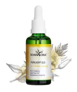 Pupalkový olej, čisto prírodná BIO kozmetika, na ekzém, na vrásky okolo očí, na liečbu atopického ekzému, i tej najjemnejšej a veľmi citlivej pokožky