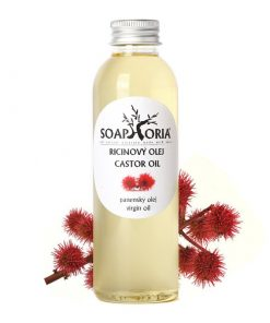 Ricínový olej - prírodná kozmetika na vlasy, riasy a nechty. Bojuje proti vráskam i lupinám
