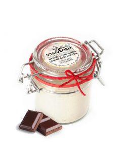 Telové suflé čokoláda, prírodná kozmetika vegánska, bez chémie s kakaom. Kombinácia bambuckého a kakaového masla premení Vašu pokožku na nespoznanie!