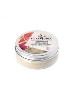 Zmyselnosť krémový deodorant, organický bez hliníka a parabénov - prírodná kozmetika pre ženy - 100% prírodný deodorant. Vegánska kozmetika