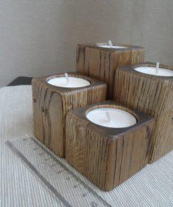 Adventné svietniky malé čierny olej. Originálne bytové doplnky, darčeky pre ženy, pre muža