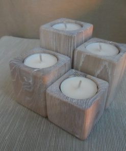 Adventné svietniky malé biely olej. Originálne bytové doplnky, darčeky pre ženy, darčeky pre muža