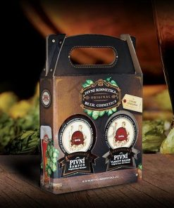 Darčeková pivná kazeta 1. Prírodná darčeková kozmetika, BIO kozmetika na vlasy