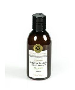 Prírodný šampón proti lupinám tea tree - prírodná kozmetika na vlasy proti lupinám a svrbeniu hlavy pre ženy i mužov