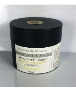 Mandľový denný krém vitamín E, prírodný krém proti vráskam, pleťový s vitamínom E vyživuje a zlepšuje prekrvenie pleti. Bez parabenov na regeneráciu,