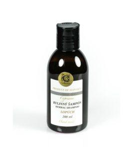 Prírodný šampón lopúchový s panthenolom na rast vlasov, proti vypadávaniu vlasov, bez parabenov, farbív; pre zdravé vlasy bez lupín. Účinný na mastné vlasy