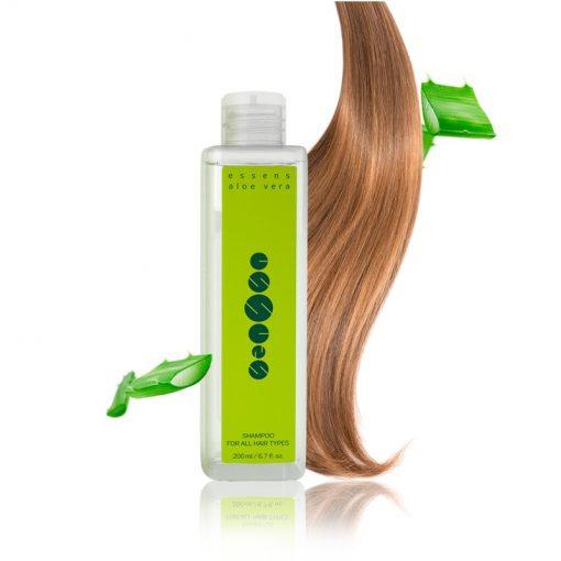 Aloe Vera šampón na farbené suché vlasy prírodný šampón na vlasy,prírodná vlasová kozmetika. Pôsobí proti vysúšaniu pokožky. Regeneruje suché končeky vlasov
