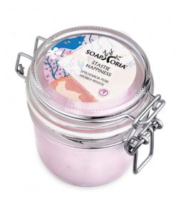 Prírodná sprchovacia pena Šťastie, slovenská čisto prírodná kozmetika. Jemná ovocno-kvetinová vôňa, svieža, ľahká ako šťastie :) Bez chémie, bez sulfátov