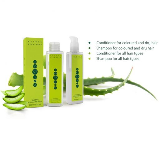 Šampóny a balzamy na vlasy Aloe vera