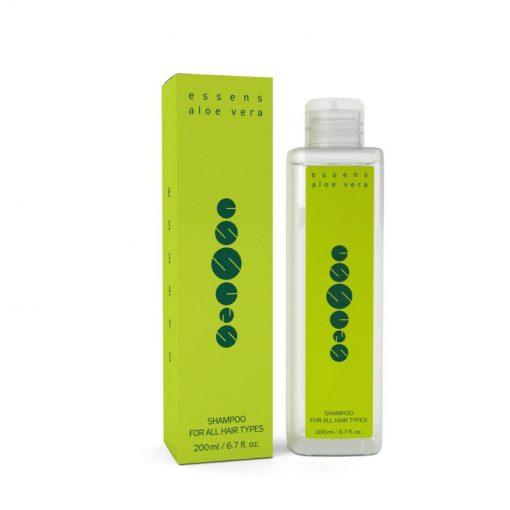 Aloe Vera šampón pre všetky typy vlasov má upokojujúce účinky, pôsobí proti vysúšaniu pokožky hlavy. Prírodná vlasová kozmetika s aloe vera, bez chémie