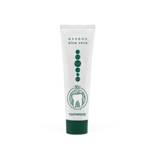 Prírodná zubná pasta Aloe Vera neobsahuje fluór, pomáha odstraňovať zápal ďasien a mierniť prejav. Zdravá zubná pasta, prírodná kozmetika na ústnu hygienu