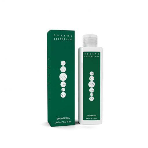Colostrum sprchový gél prírodný s konopným olejom a Colostrom. Podporuje regeneráciu kožných buniek (anti-aging efekt), vhodné pre deti i dospelých.