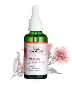 Makový olej, prírodná kozmetika na suchú a podráždenú pleť, ekzémy, so sklonom k popraskaniu alebo zápalovú pleť, je vhodný na masáže. BIO kozmetika na tvár
