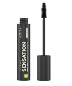 RIASENKA VOLUME SENSATION 04, BIO maskara na citlivé oči, ktorá dodá riasam neodolateľný objem. Obsahuje vitamín E, prírodné oleje. BIOdekoratívna kozmetika