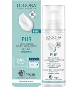 PUR hydratačný pleťový krém pre alergikov s probiotikami, vhodný na vysoko alergickú a citlivú podráždenú pleť. Prírodná pleťová kozmetika