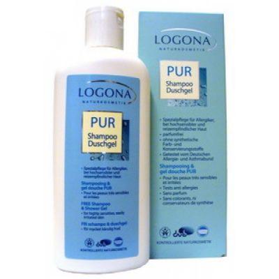 PUR šampón a sprchový gél pre alergikov, prírodná kozmetika, BIO kozmetika pre alergikov