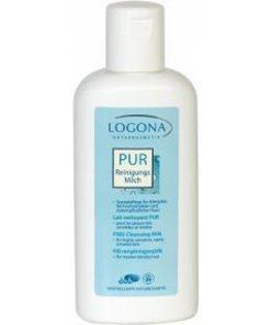 PUR čistiace pleťové mlieko pre alergikov. Prírodná kozmetika na tvár, BIO kozmetika na tvár