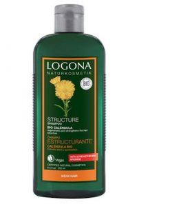 BIO šampón Nechtík slabé vlasy, na poškodené vlasy, ekzémy a podráždenia s obsahom nechtíka. BIO kozmetika na vlasy, BIO šampóny na vlasy bez sulfátov