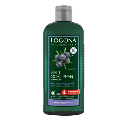 BIO šampón Borievka proti lupinám. Borievkový olej, extrakt z rozmarínu a pŕhľavy, kôry vŕby bielej a brezových listov upokojuje pokožku hlavy, bez sulfátov