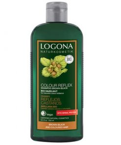 BIO šampón Orech hnedé až čierne vlasy je prírodný šampón na vlasy, udržuje prirodzenú farbu vlasov - prírodné farbivo na vlasy. BIO kozmetika na vlasy