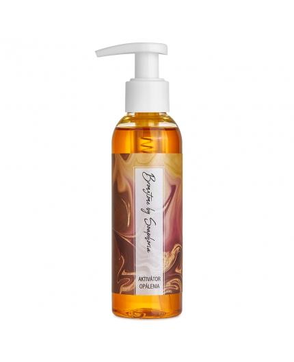 Aktivátor opálenia Bronztone Soaphoria, prírodná kozmetika na opaľovanie, prírodné telové oleje, podporuje jednotné a dlhotrvajúce opálenie do hneda