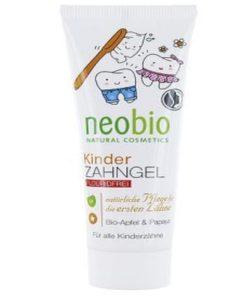 Neobio detská zubná pasta bez syntetického fluoridu, BIO kozmetika pre deti, prírodná kozmetika pre deti