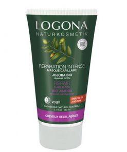 BIO regeneračná vlasová kúra Jojoba, bio vlasová kozmetika aj na farbené vlasy, zamedzuje vypadávaniu a lámaniu vlasov. Extrakty z pŕhľavy, jojoby, lopúcha