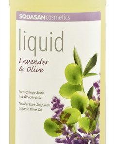 BIO tekuté mydlo Levanduľa oliva s olivovým olejom, vyrobené z BIO mydla. Pre celú rodinu, bez vysušovania, bio kozmetika
