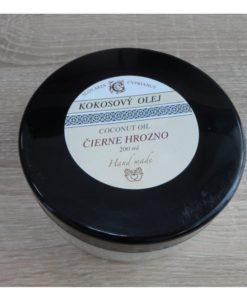 Kokosový olej Čierne hrozno - 100% čisto prírodná kozmetika na telo a tvár – prírodné telové oleje. Dobre sa vstrebáva do pokožky, nezanecháva mastnotu