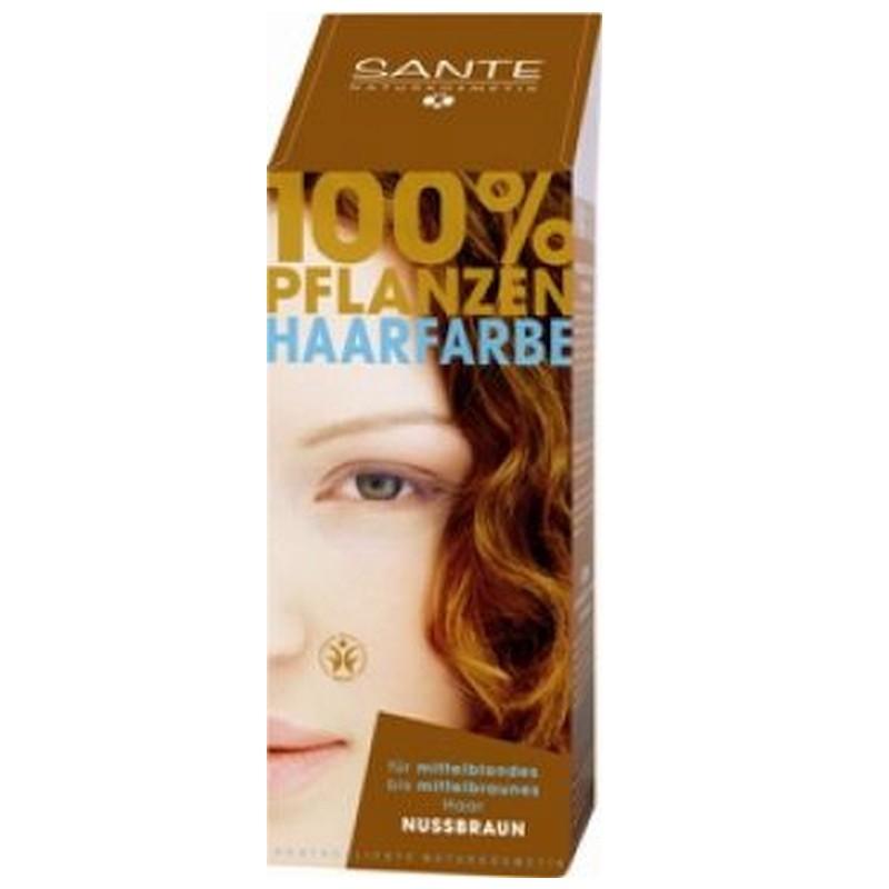 Prášková farba na vlasy orieškovohnedá SANTE- prírodná farba na vlasy 0cc861c6b2b
