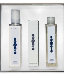 Darčeková kazeta parfémová W 107 obsahuje parfém Chloe eau de Parfum 50 ml, sprchový gél 200 ml a telový balzam 200 ml s vôňou parfému W 107 Chloe eau de Parfum